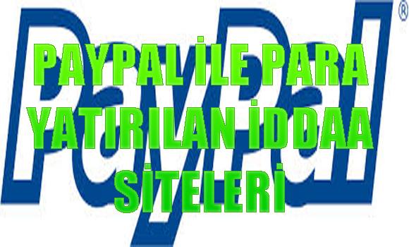 paypal ile para yatırılen yabancı iddaa siteleri, Paypal ile ödeme kabul eden yabancı iddaa siteleri, Yabancı bahis sitelerine paypal ile para yatırma